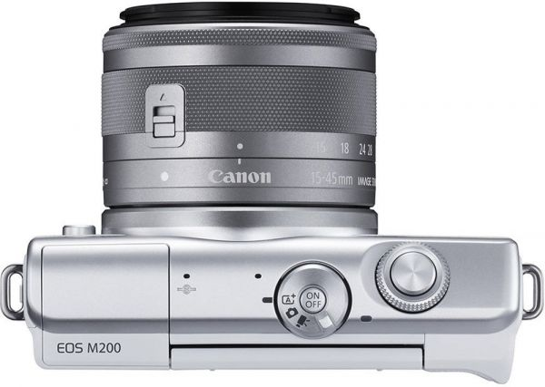Canon EOS M200 kit (15-45mm) IS STM