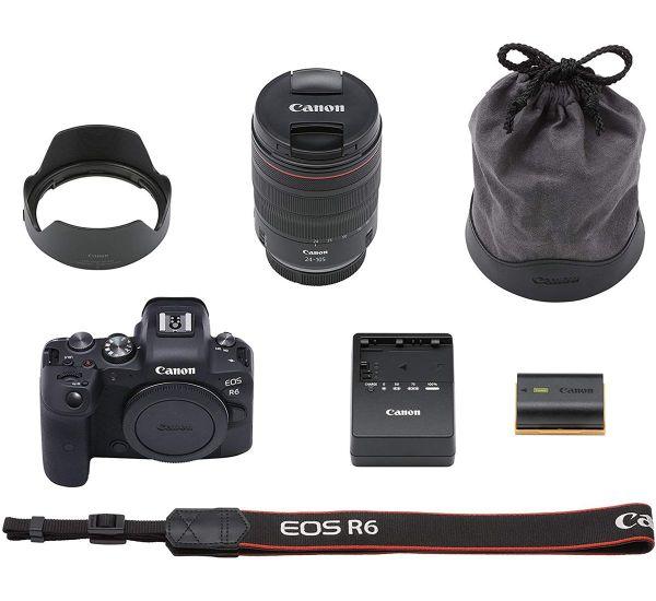 Canon EOS R6 kit (24-105mm)L