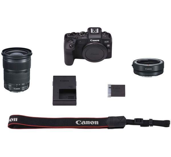 Canon EOS RP kit (RF 24-105mm) + EF-RF