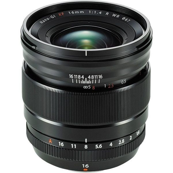 Fujifilm XF 16mm f/1,4 R