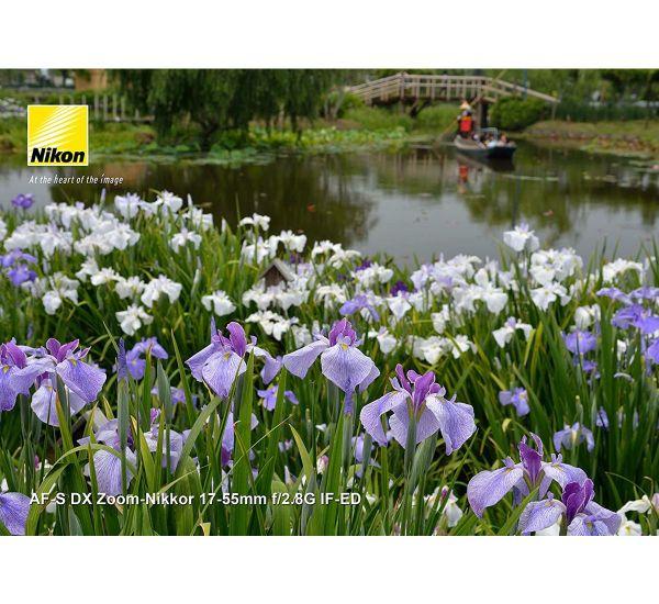 Nikon AF-S DX Zoom-Nikkor 17-55mm f/2,8G IF-ED (3,2x)