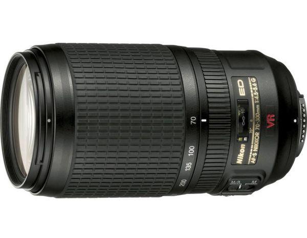 Nikon AF-S VR Zoom-Nikkor 70-300mm f/4,5-5,6G IF-ED (4,3x)
