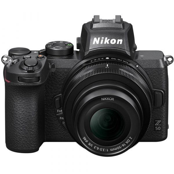 Nikon Z50 kit (16-50mm)VR + FTZ Mount Adapter
