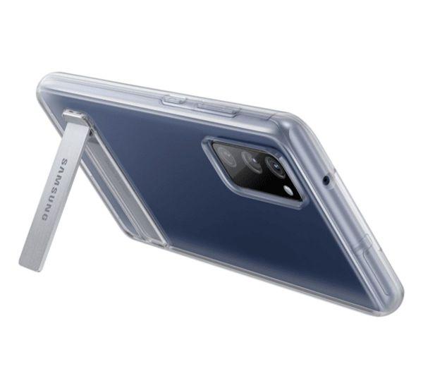 Samsung G780 Galaxy S20 FE Clear Standing Cover Transparent (EF-JG780CTEG)