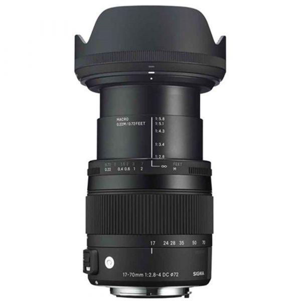 Sigma AF 17-70mm f/2,8-4,0 DC Macro OS HSM C