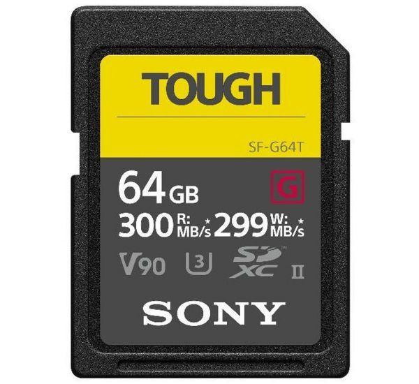 Sony 64 GB SDXC UHS-II U3 SF-G64