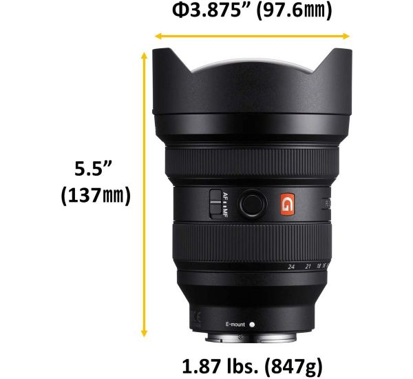 Sony SEL1224GM 12-24 mm f/2.8 GM FE