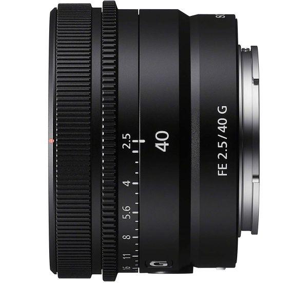 Sony SEL40F25G 40mm f/2,5 G FE