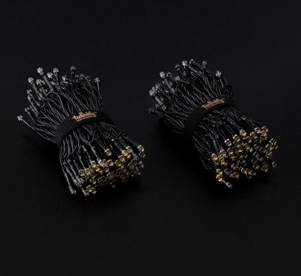 Twinkly Smart LED Strings AWW 250 BT+WiFi Gen II IP44 кабель черный (TWS250GOP-BEU)